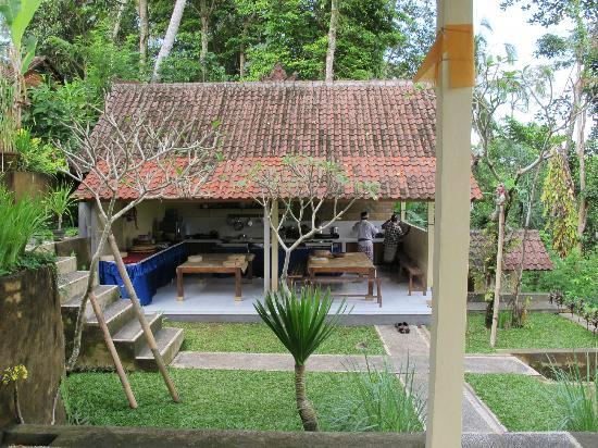 Ketut's Bali Cooking Class: Kelas yang semi outdoor