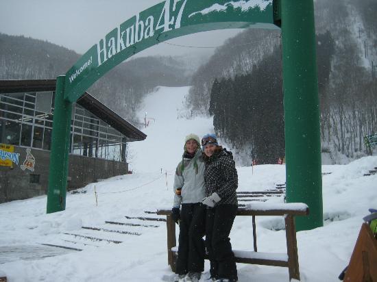 Canadian Village : At the base of Hakuba 47