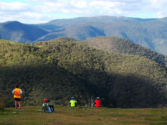 Snowy River Cycling Rail Trail Tours: Overlooking Snowy River National Park