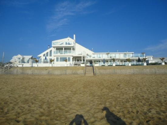 Blue - Inn on the Beach: View from the Beach