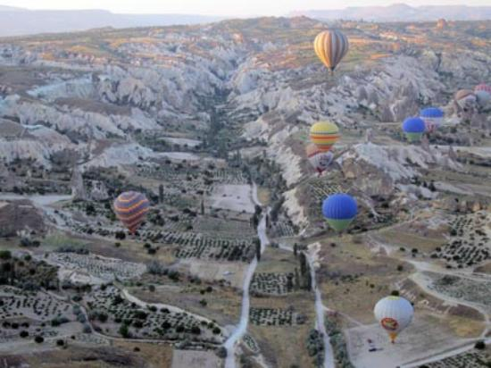 Urgup Hot Air Balloons: Floating over the Cappadocia valley