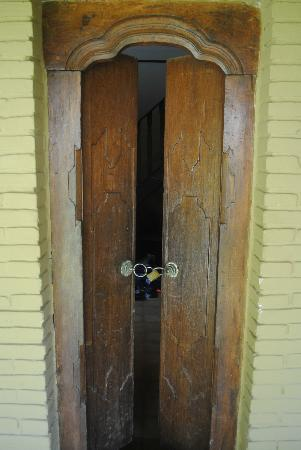 Three Brothers Bungalows: front door security