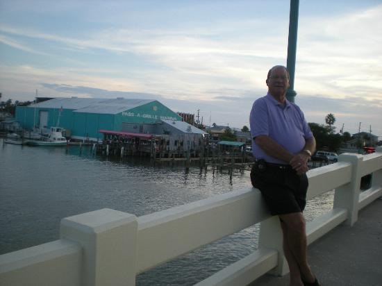 The Wharf : Wharf in background