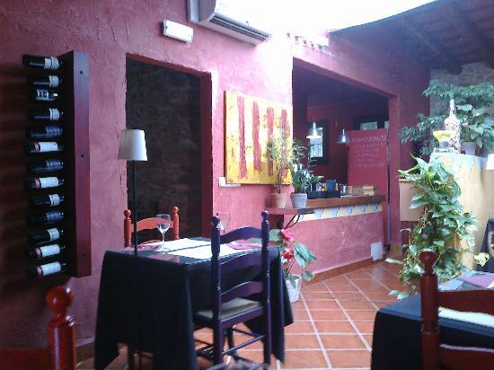Restaurante Llantia en Hotel Peralta