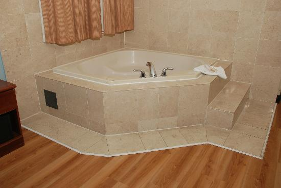 Howard Johnson Inn Jamaica JFK Airport NYC: JACUZZI TUB