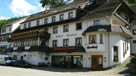 Elzach-Oberprechtal, Germany: Front of hotel