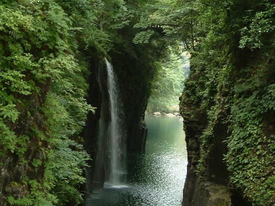 Takachiho-cho, Japonia: manainotaki