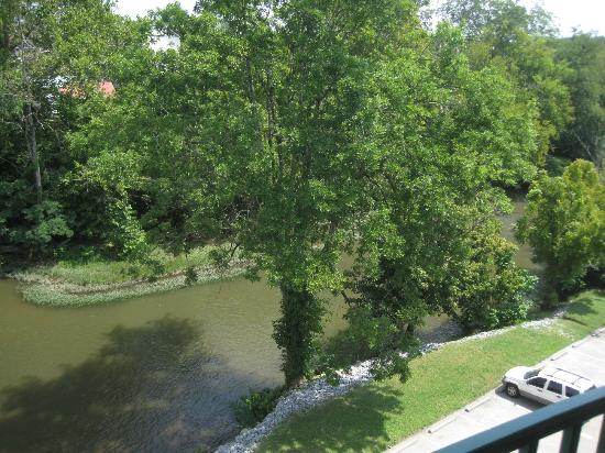 Pigeon River Inn: View from balcony