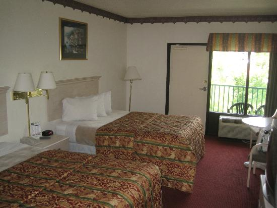 Pigeon River Inn: room