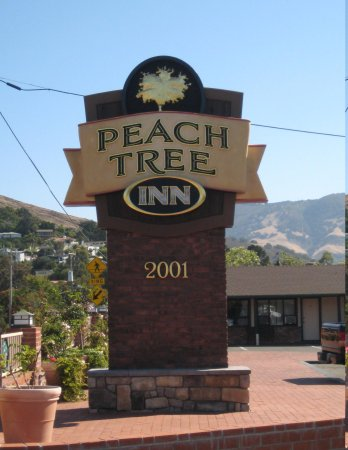 Peach Tree Inn: Can't get the sign to show upright ???