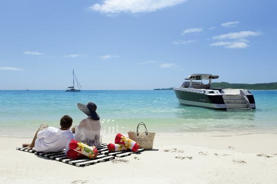 Qualia Resort: Beach Drop Off, qualia