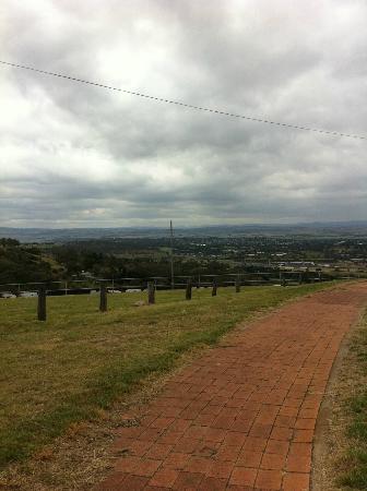 Mount Panorama Motor Racing Circuit: Walking through the gates in McPhillamy Park