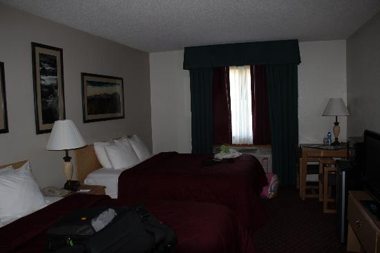 Comfort Inn: Room with my back to the door.