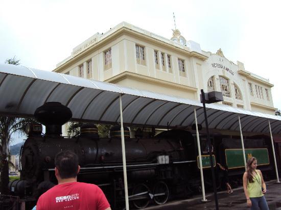 Museu Vale: Museu Ferroviário em Vila Velha/ES - Locomotiva