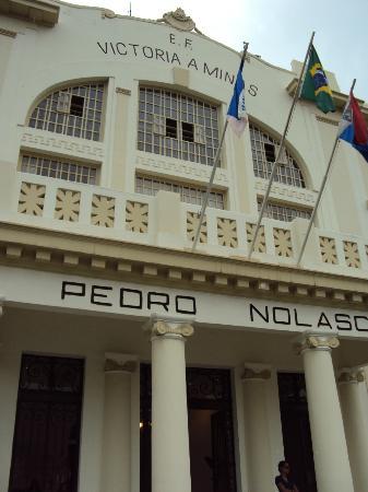 Museu Vale: Museu Ferroviário em Vila Velha/ES - Fachada