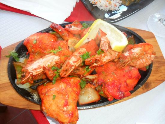 Kashmir Indian Restaurant: Tandoori Mixed Grill