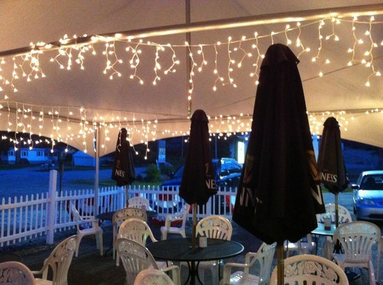 Black Bear Cafe: Under the Tent at the BBC