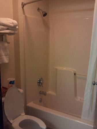 Super 8 Hanover: Shower area