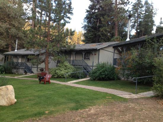 Pine Knot Guest Ranch: From left-Cabins 15, 16, & 17