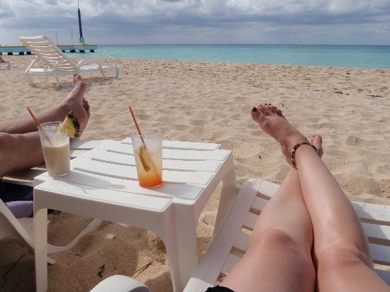 relaxing at the beach picture of nachi cocom beach club water