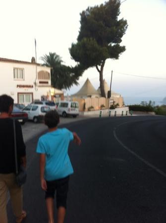 Benissa, Spain: superbe vue