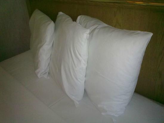 iStay Hotel Monterrey Historico: Nice pillows