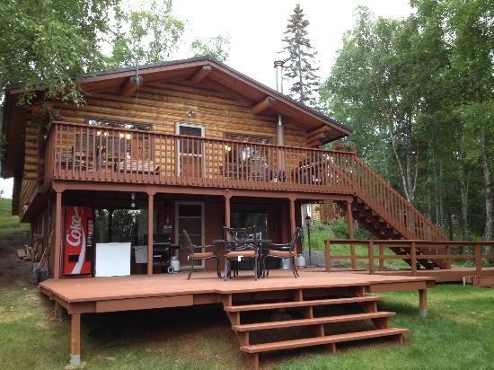 Alaska Serenity Lodge: Front of the King Salmon (Main Lodge)