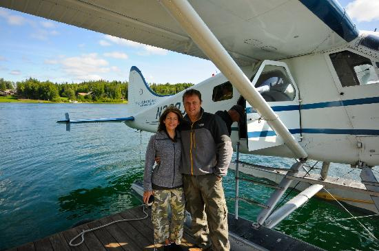 Alaska Serenity Lodge : Ready for an amazing float plane ride