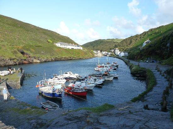 Valency B&B: Boscastle harbour
