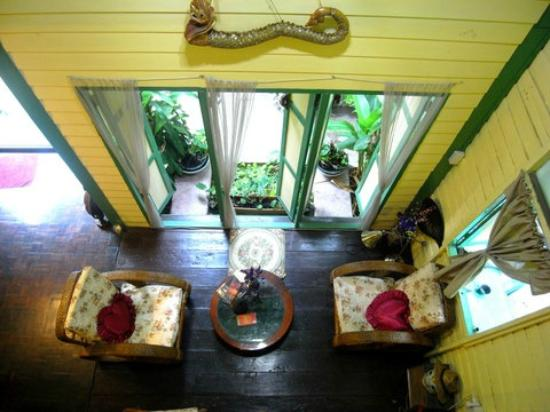 Baan Tepa: View from upstairs