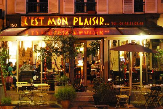 C'est Mon Plaisir: outside