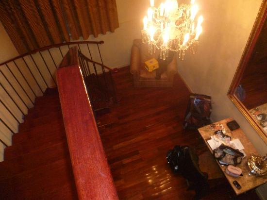 San Leonardo Puebla: desde las escaleras