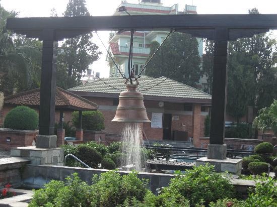 Crowne Plaza Kathmandu-Soaltee: Bell Shower