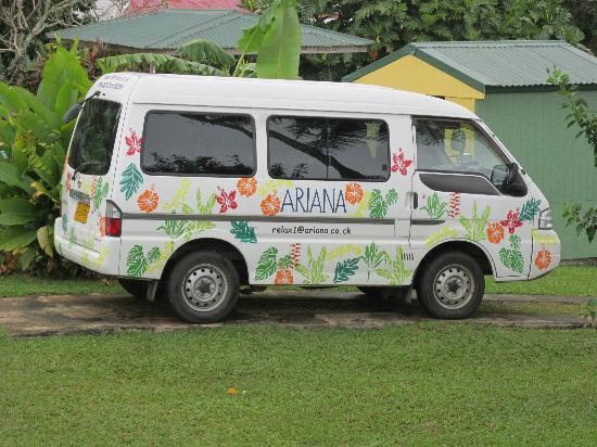 Ariana Bungalows: Ariana'a Van ( love the art work)