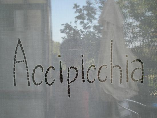 Agriturismo Accipicchia : TENDA PERSONALIZZATA