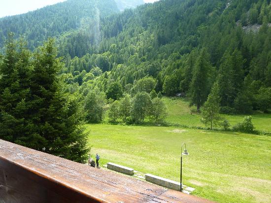 Residence Apfel : vista dal balcone