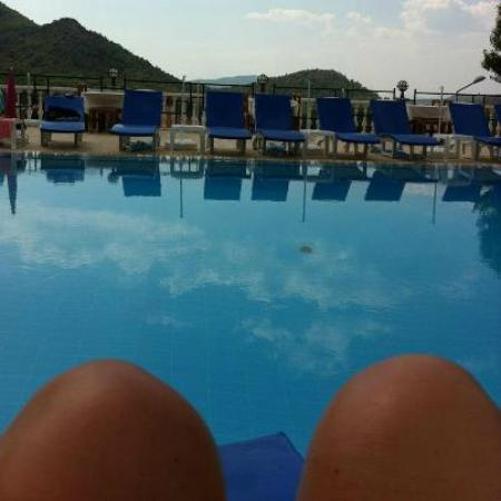 PH Hotel: the view from the poolside