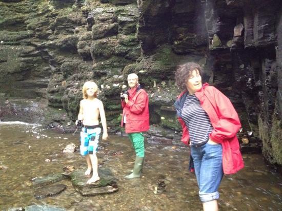 Cornish Heritage Safaris -  Tours : Bij de watervallen
