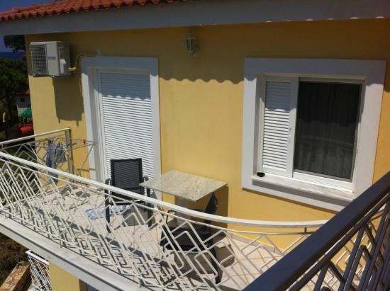 Irida Resort: Balcony room 301