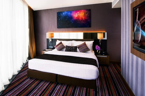 The Continent Hotel Bangkok : Junior Suite - Space Theme (Mock-up room)