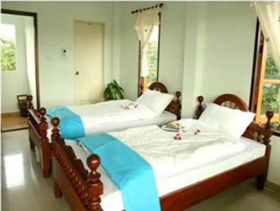 Thai Guest House & Backpacker: Bed for two people