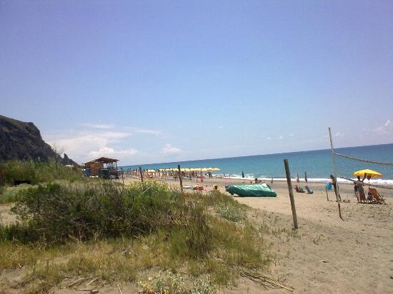 Villaggio Odissea: la spiaggia....