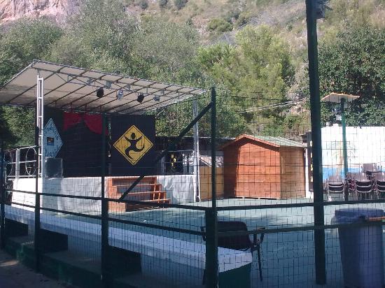 Villaggio Odissea: l'arena