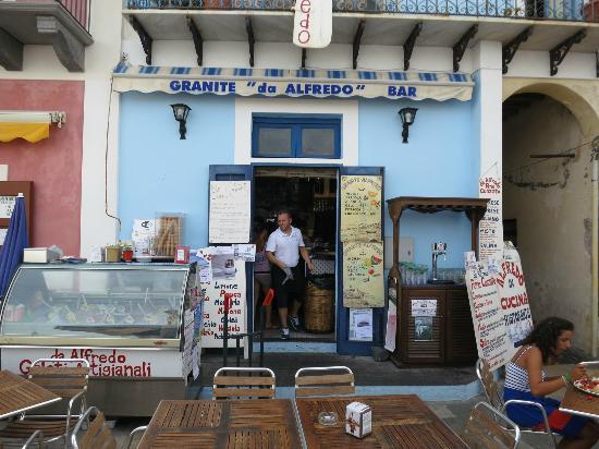 Hotel Mamma Santina: Granita @ da Alfredo in Lingua