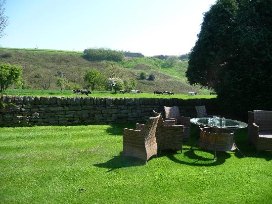 Smallshaw Farm Cottages: View from the Farmhouse