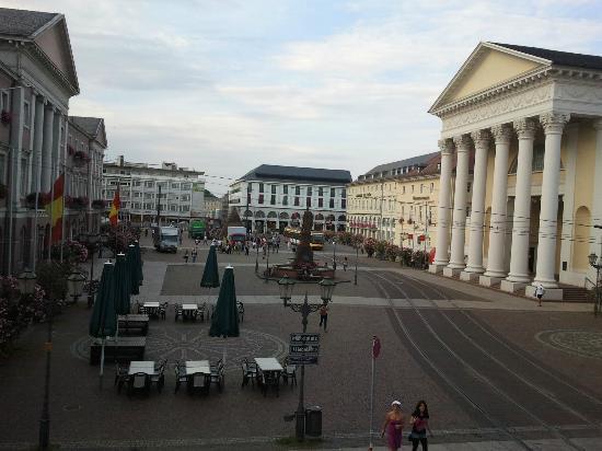 Hotel Kaiserhof: Aussicht auf den Markt