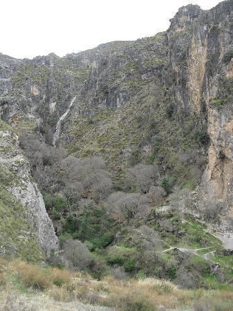 Los Cahorros: Entrada al paraje