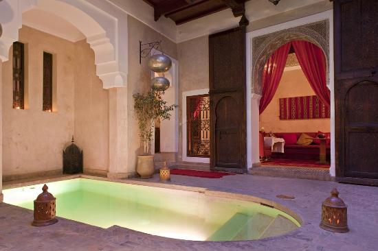Riad Zolah: Patio Piscine