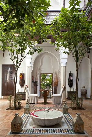 Riad Zolah: Pation Fontaine