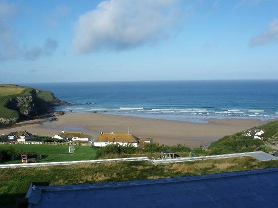 Bedruthan Hotel & Spa: view